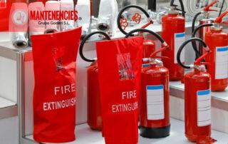 Extintores componentes químicos