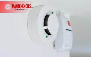 Instalación detectores de humo