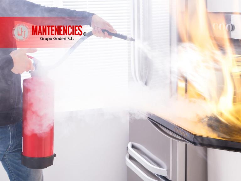 Medidas de prevención incendios hogar